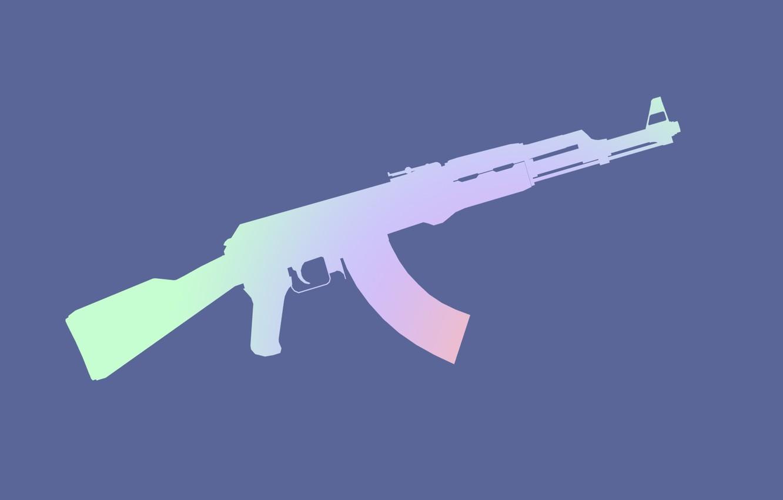 Photo wallpaper weapons, machine, Kalash