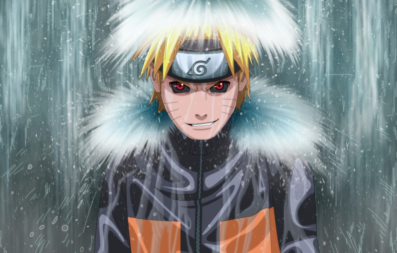 Wallpaper Waterfall Naruto Anime Uzumaki Naruto Evil Essence Images For Desktop Section Prochee Download