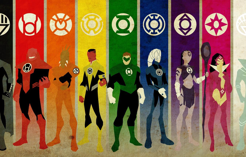 Photo wallpaper green, love, white, black, life, woman, yellow, alien, blue, pink, man, orange, will, death, stick, …