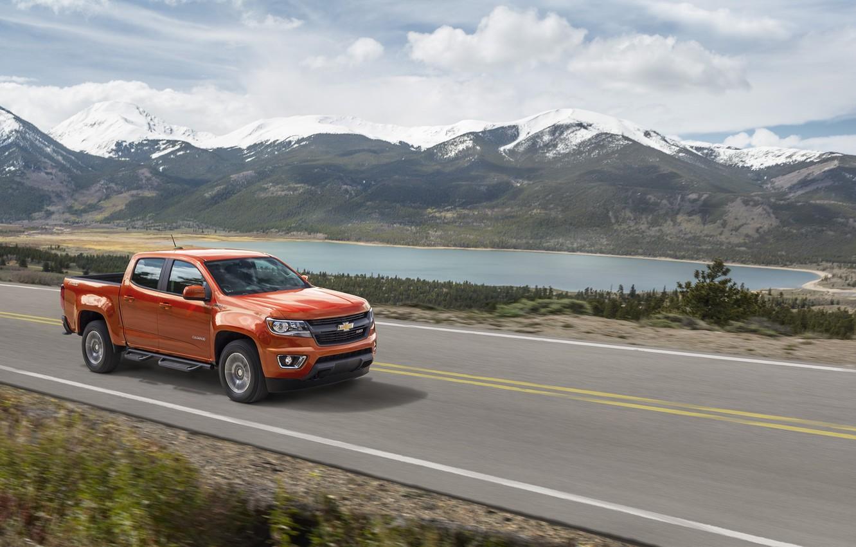 Photo wallpaper Chevrolet, Chevrolet, Colorado, Colorado, Diesel, Crew Cab, Z71, 2015, Duramax