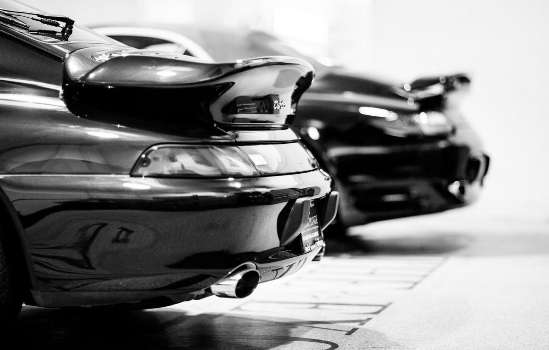 Photo wallpaper car, turbo, porsche
