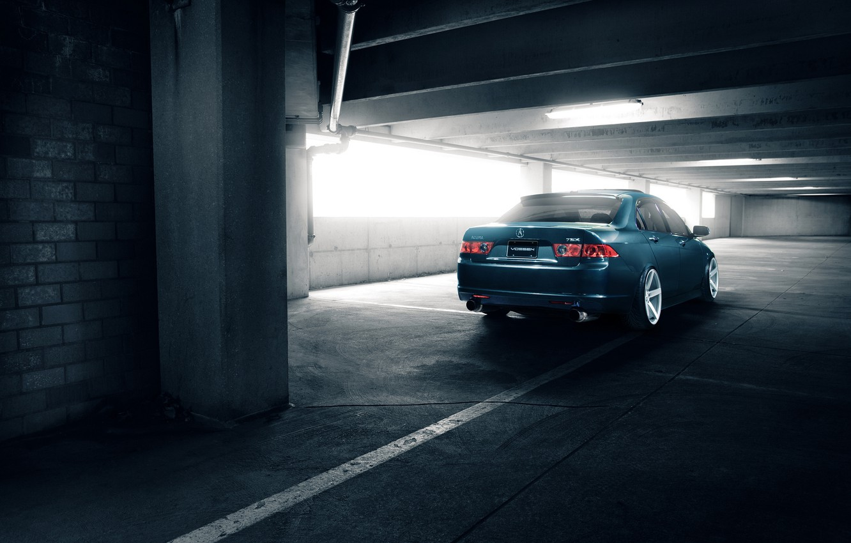 Photo wallpaper Honda, stance, Acura, TSX