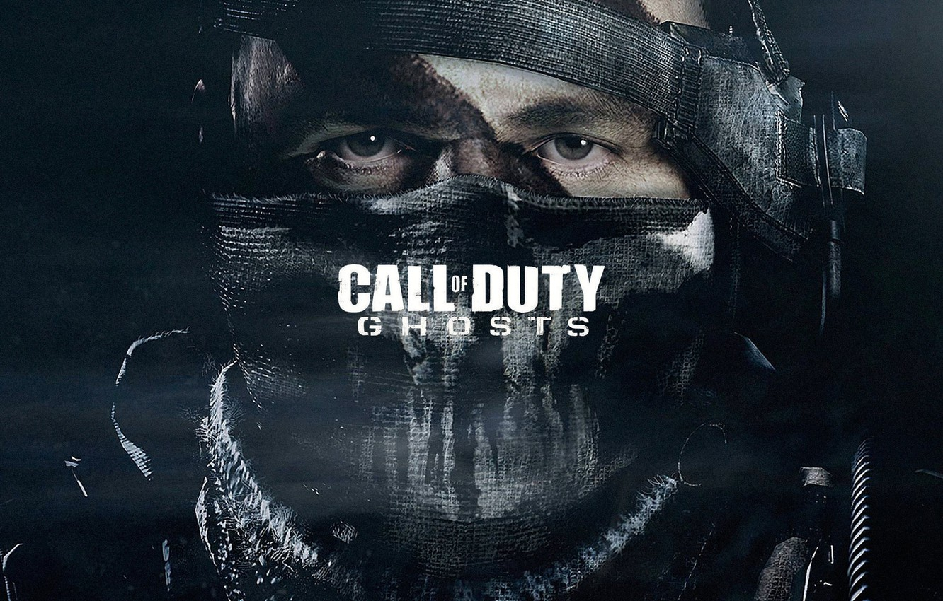 Photo wallpaper ghost, duty, call