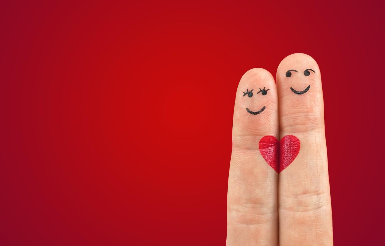 Photo wallpaper love, romance, heart, fingers, love, Valentine's day, heart, Valentine's Day, romance, fingers