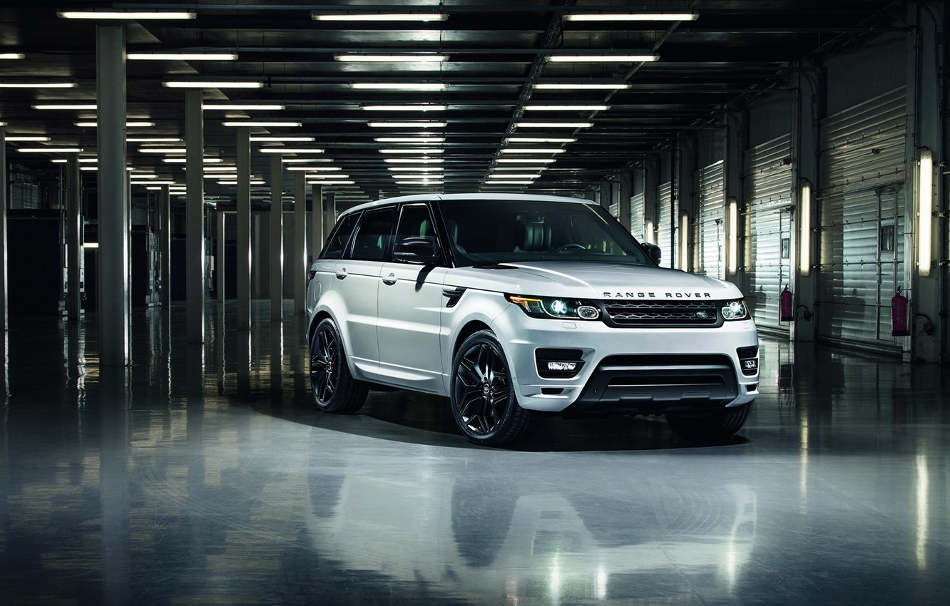 Photo wallpaper car, jeep, SUV, Range Rover, Sport, Stealth Pack