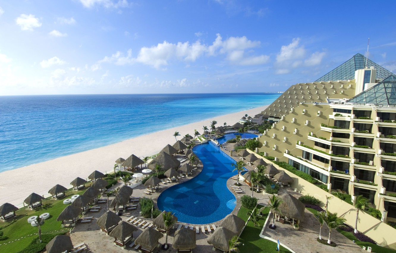 Wallpaper The Ocean Mexico The Hotel Cancun Images For Desktop Section Gorod Download