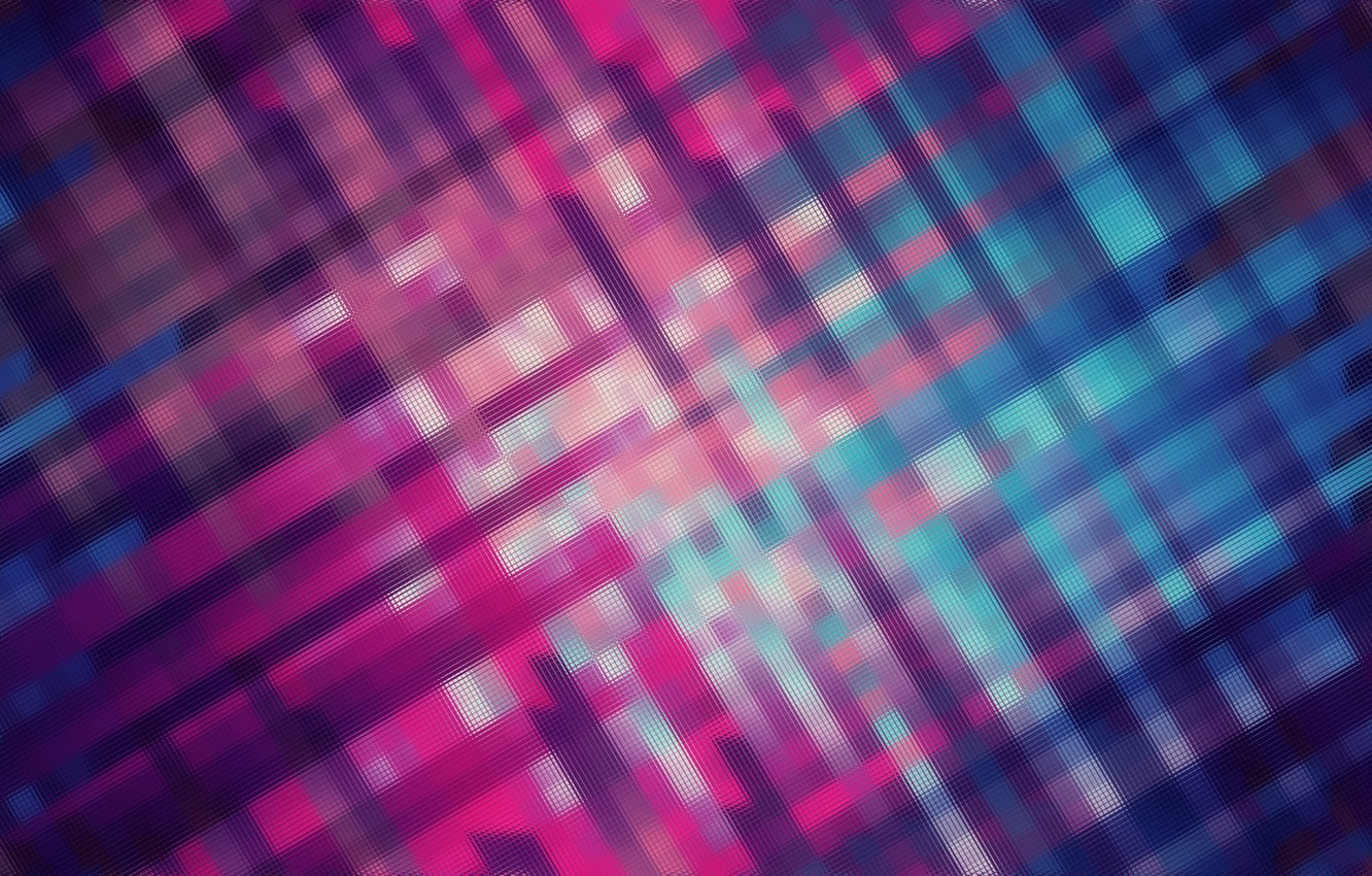 Photo wallpaper blue, red, mesh, Abstraction