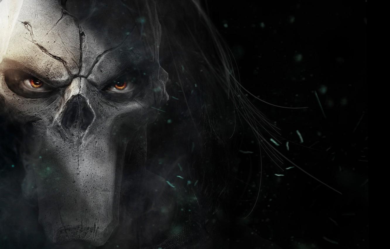 Photo wallpaper Look, Death, Mask, THQ, Darksiders 2, Darksiders II, Vigil Games