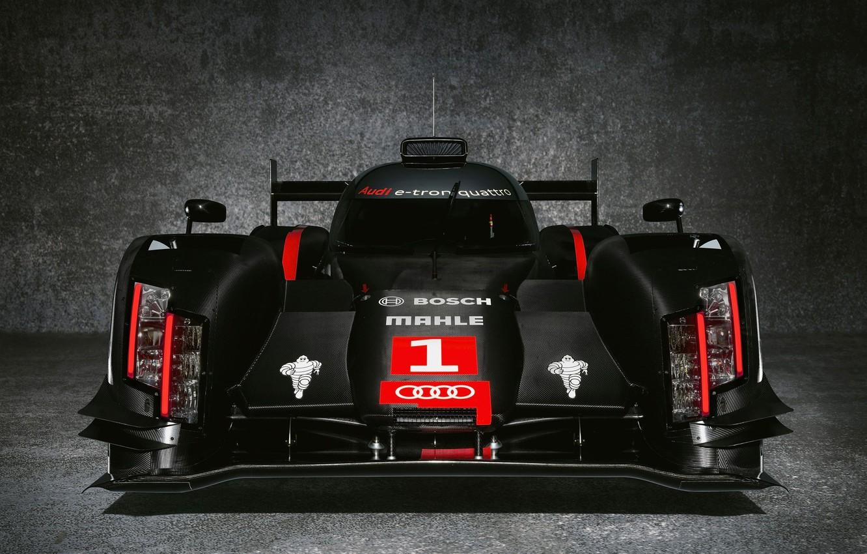 Photo wallpaper Audi, race, Motorsport, the mans, the audi r18 e-tron quattro 2014