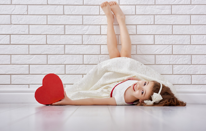 Photo wallpaper love, heart, girl, love, heart, romantic
