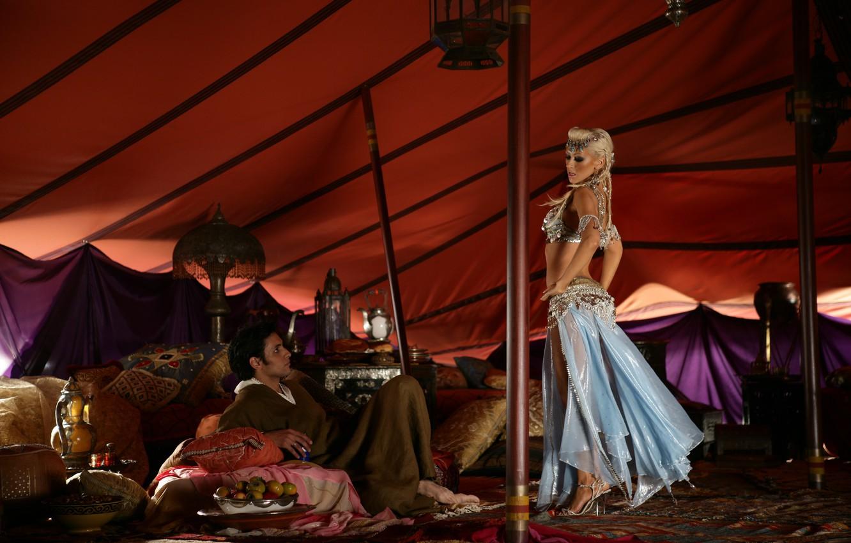 Photo wallpaper girl, blonde, male, singer, Christina Aguilera, Christina Aguilera, celebrity, dancing