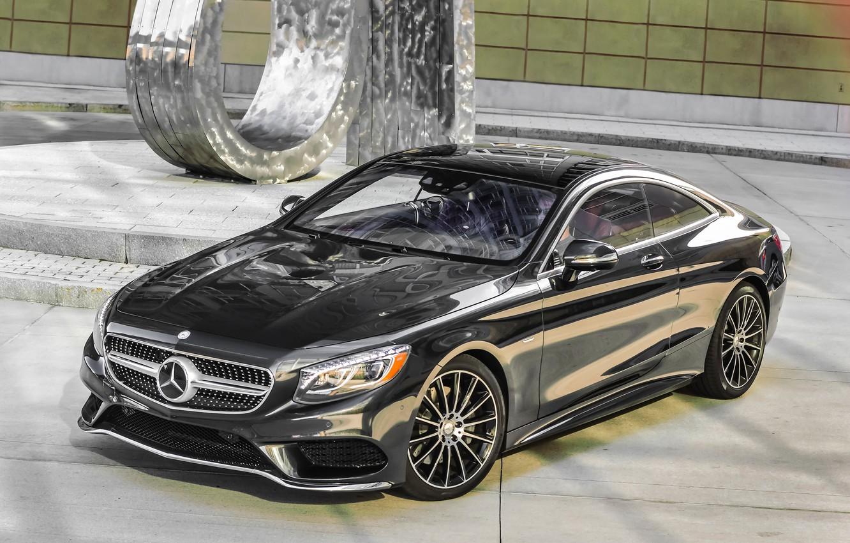 Photo wallpaper Mercedes-Benz, Mercedes, AMG, AMG, 2014, S 550, S-Class, C217