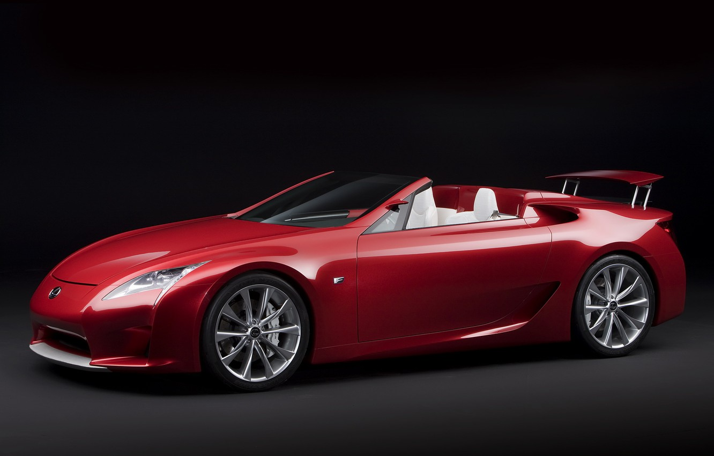 Photo wallpaper Lexus, concept, roadster, lf-a