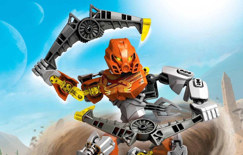 Photo wallpaper LEGO, LEGO, Bionicle, BIONICLE, master of stone, pohatu, Pohaty, 70785, master of stone