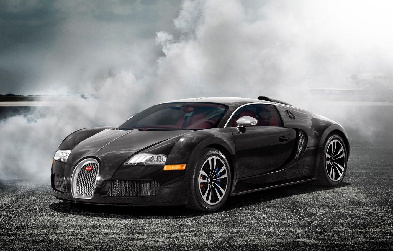 Photo wallpaper smoke, veyron, supercar, bugatti, Bugatti, autowalls