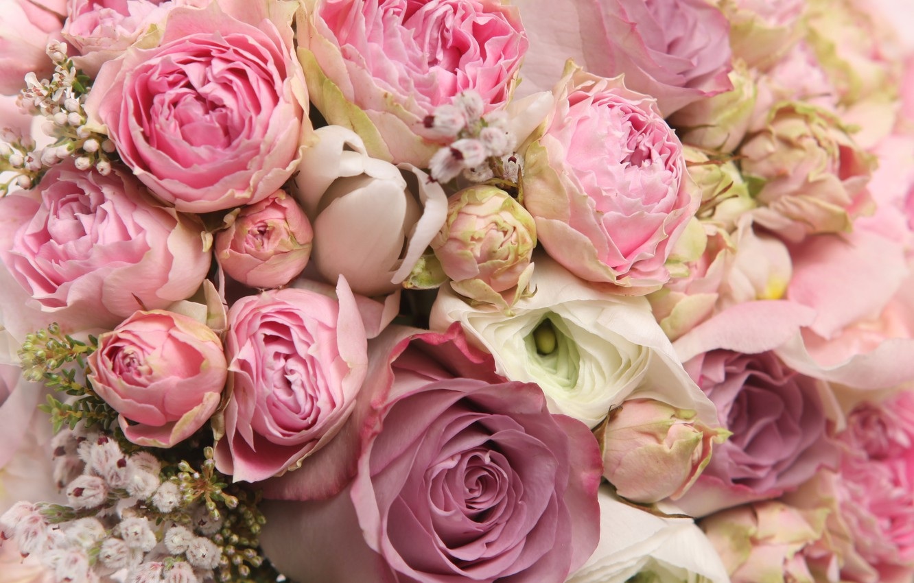 Photo wallpaper flowers, romance, roses, bouquet, rose, flower, i love you, beautiful, flowers, for you, beautiful, pretty, ...