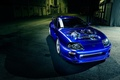Picture car, engine, blue, toyota supra