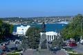 Picture area, monument, Navy, Sevastopol, Admiral, Nakhimov