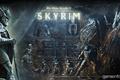 Picture bas, fantasy, warrior, logo, the elder scrolls, skyrim, Skyrim