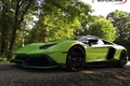 Picture anniversary, lp700-4, aventador, green, 50th, lamborghini
