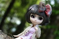 Picture doll, hairstyle, beauty, bow