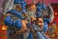 Picture Hearthstone, cartridges, beard, art, dwarf, An experienced hunter, Big Game Hunter, World of Warcraft, WoW, ...