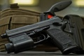 Picture .40 S&W, USP, self-loading pistol, Tactical, Germany, holster, knife, Heckler&Koch, the possibility of using a ...