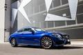 Picture Mercedes-Benz, Coupe, C-Class, Mercedes, AMG, blue, C205