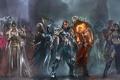 Picture weapons, heroes, warriors, mages, Garruk, Karn, Elspeth, Nissa, Kiora, Sarkhan Vol, Planeswalkers, Ajani, Wizards of ...