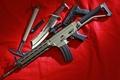 Picture weapons, knife, SIG 556, hatchet, Assault rifle, machine, gun