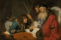Picture picture, religion, mythology, Isaac Blesses Jacob, Govert Flinck