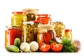 Picture olives, pepper, tomatoes, vegetables, preserving, vegetables, tomatoes, cucumbers, mushrooms, garlic, mushrooms, olive