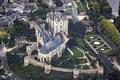 Picture the city, river, castle, France, Castle of Montreuil-Bellay