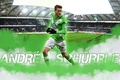 Picture stadium, wallpaper, VfL Wolfsburg, football, Volkswagen Arena, sport, player, Andre Schurrle