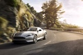 Picture In Motion, Asphalt, Coupe, Sports car, Aston Martin, Silver, Machine, Auto, Road, DB9, Grey