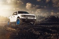 Picture ADV.1, F-150, Sun, White, Front, Wheels, RaptorTrax, Ford