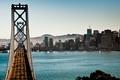Picture the bay bridge, San Francisco, bridge, CA