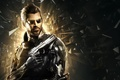 Picture Glasses, Weapons, Fragments, Beard, Deus Ex, Adam Jensen, Adam Jensen, Cyborg, Equipment, Cyberpunk, Deus Ex: ...