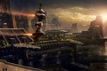 Picture space, the city, building, ships, space, game wallpapers, spaceships, hangars, Star Citizen, Star citizen, the ...