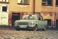 Picture classic, old, school, wartburg, Wartburg