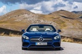 Picture SL500, Mercedes-Benz, mountains, nature, AMG, blue