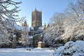 Picture lincoln, snow, England, architecture, gothic cathedral