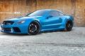 Picture blue, Mercedes, Mercedes, AMG, SL65, ADV1, Mat