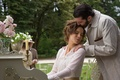 Picture flowers, frame, garden, pair, Kate Beckinsale, Kate Beckinsale, lovers, piano, vases, Jim Sturgess, Abode of ...