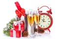 Picture holiday, gifts, glasses, Happy New Year, snow, winter, holiday, Merry Christmas, time, ornaments, Cup, decoration, ...