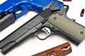 Picture Model 1911-A1, Springfield Armory, Officer, Range, Cal .45ACP