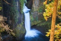 Picture nature, rocks, waterfall, Autumn, nature, autumn, waterfall