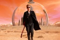 Picture look, fiction, planet, guitar, glasses, actor, male, the dome, Doctor Who, Doctor Who, Peter Capaldi, ...