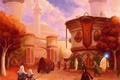 Picture the city, wow, world of warcraft, the blood elves, silvermoon, Silvermoon