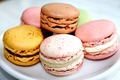 Picture macaron, different, cookies, colored, macaroon